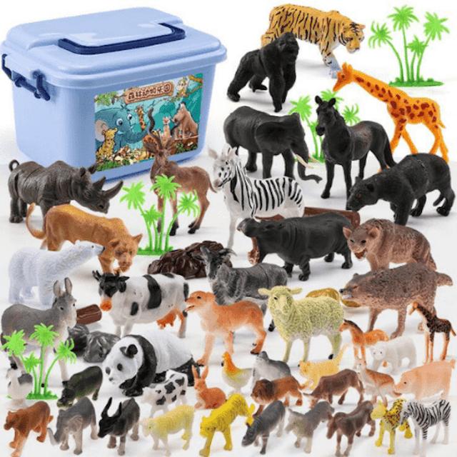 Raising Little Collectible Wild Zoo Animals 1