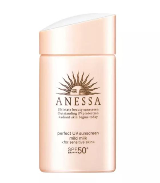 Anessa Perfect UV Mild Milk for Sensitive Skin SPF50 1