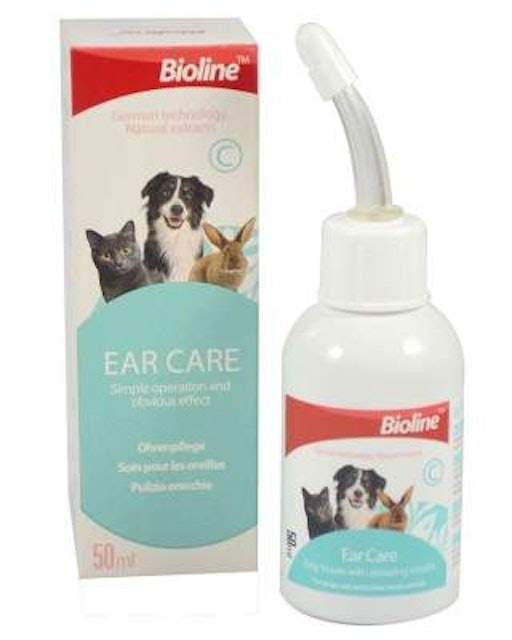 Bioline Ear Care for Dogs and Cats 1