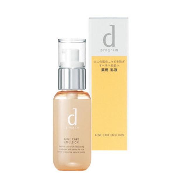 Shiseido d Program Acne Care Emulsion 1