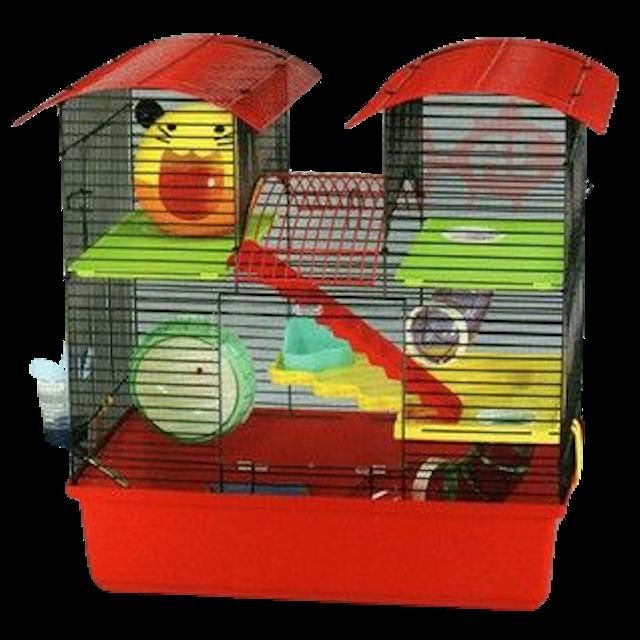 Showa HC-625 3-Level Hamster Cage 1
