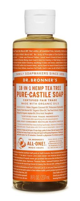 Dr. Bronner's Tea Tree Pure-Castile Liquid Soap 1