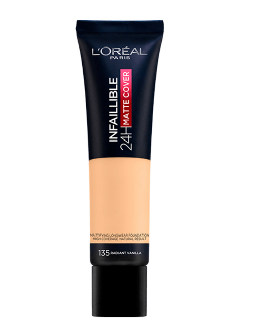 L'Oreal Infallible Matte Cover Foundation 1
