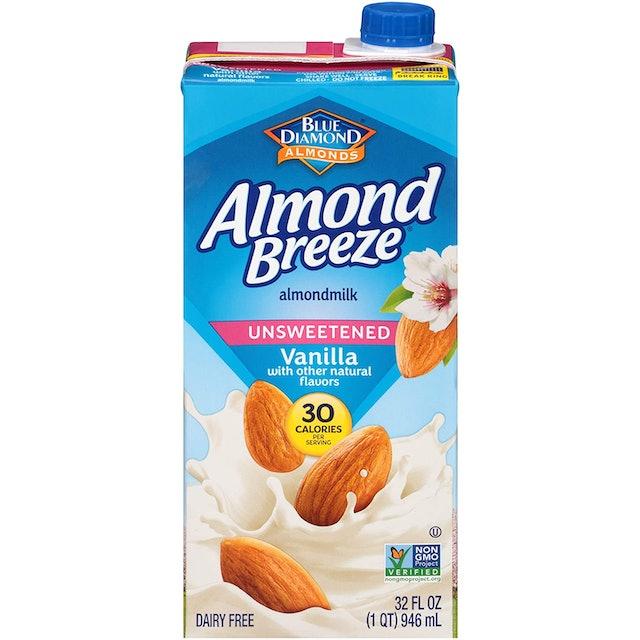 Almond Breeze  Almond Milk - Unsweetened Vanilla  1