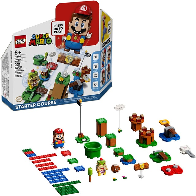 Lego Super Mario Adventures With Mario Starter Course 1