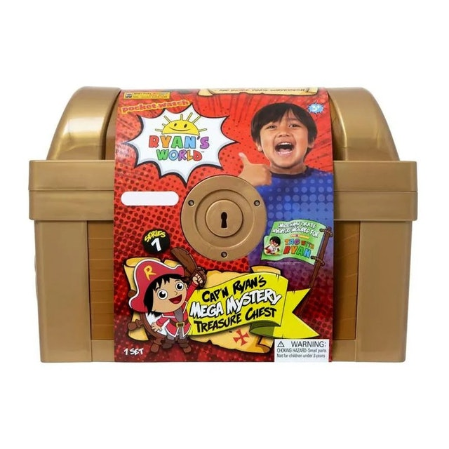 Ryan's World Mega Mystery Surprise Treasure Chest 1