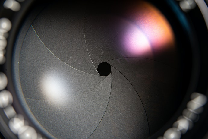 Check the Aperture of the Lens