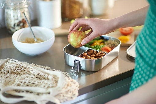 Opt for a Lunch Box With Multiple Sections