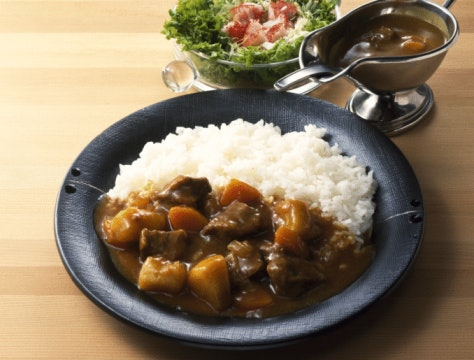 Japanese Curry is Thick and Sweet