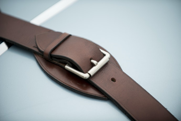 Leather Straps for a Soft, Supple Feel During Your Stretches