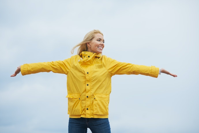 Rain Jackets Are Multi-Layered and End at the Waist or Hips