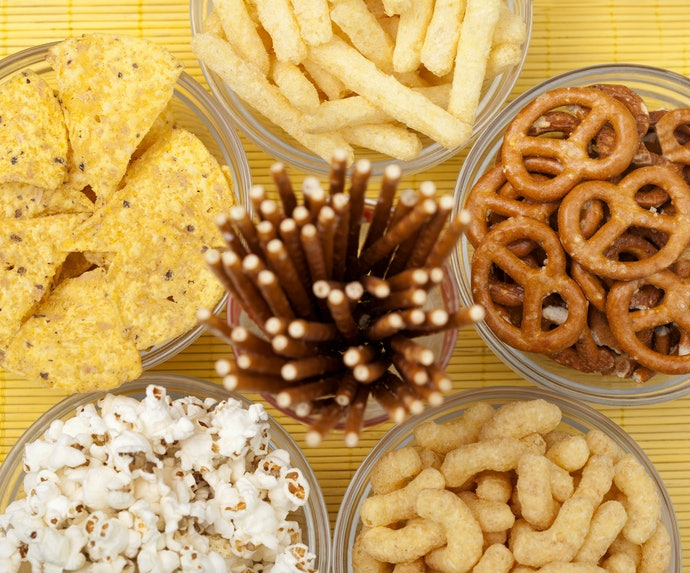 Chips, Biscuits, and Crackers Are Perfect Snacks Between Meals