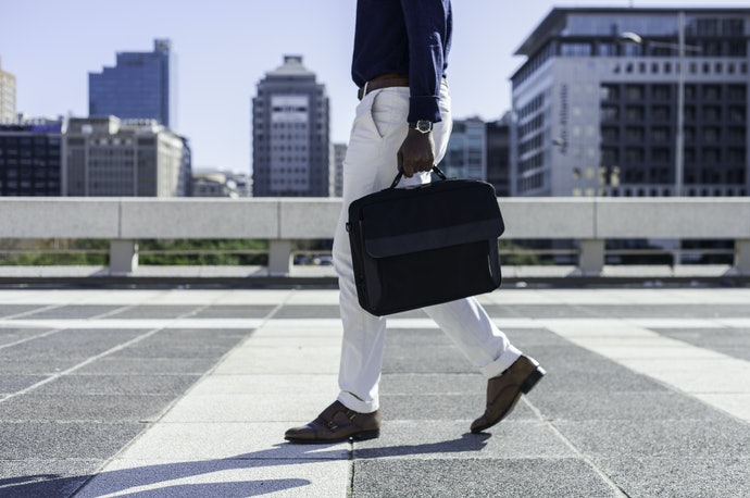 A Handle Lets You Carry the Laptop Sleeve by Itself