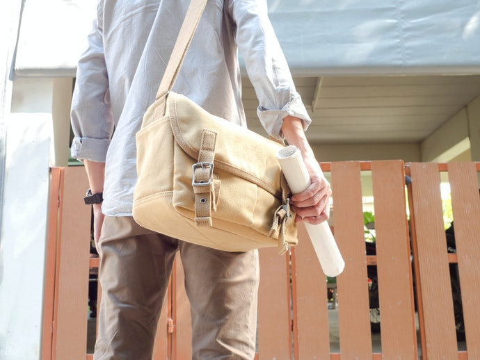 Waxed Canvas Sling Bags are Waterproof and Versatile