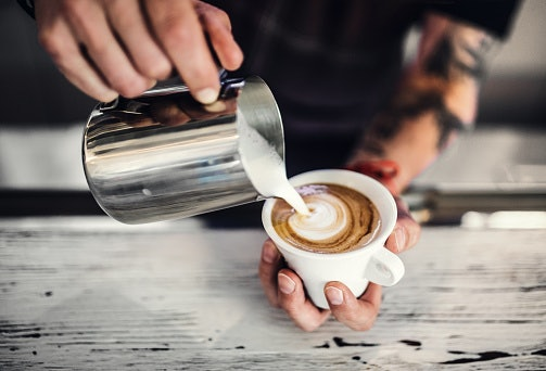 Frothy Milk for Coffee Lovers