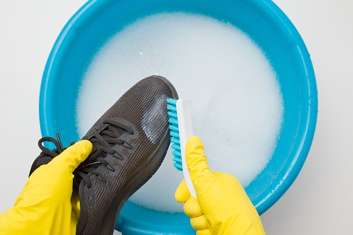 Fabric Shoes Are Easiest to Clean