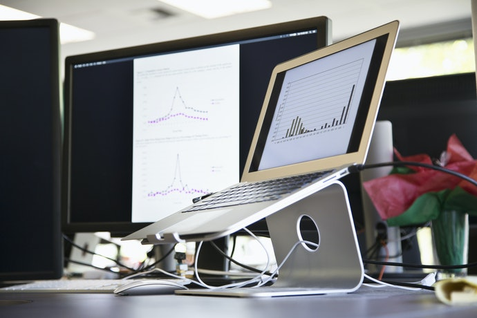 Adjustable Laptop Stands Are Portable