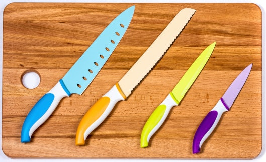 Colored Blades are Hybrids