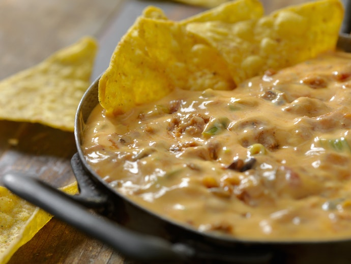 You Can Never Go Wrong With a Cheese and Bacon Dip