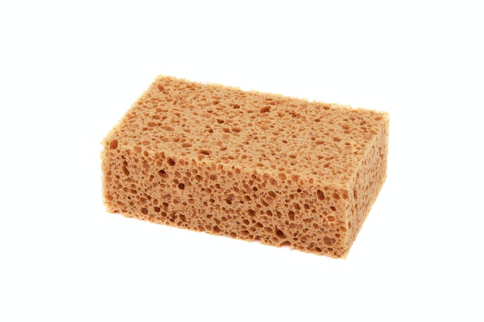Cellulose Sponges for Great Water Absorption
