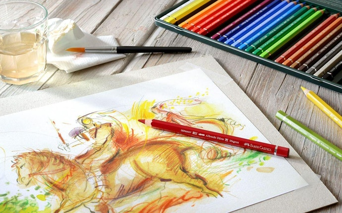 Watercolor: Drawing and Painting Medium in One
