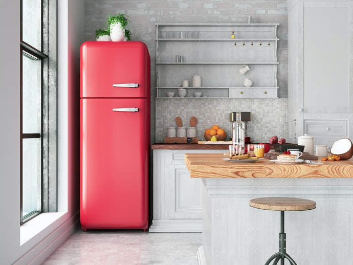 Top Freezer for Easy Access