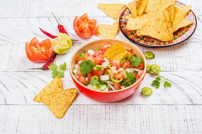 Salsa Is Tangy and Fresh