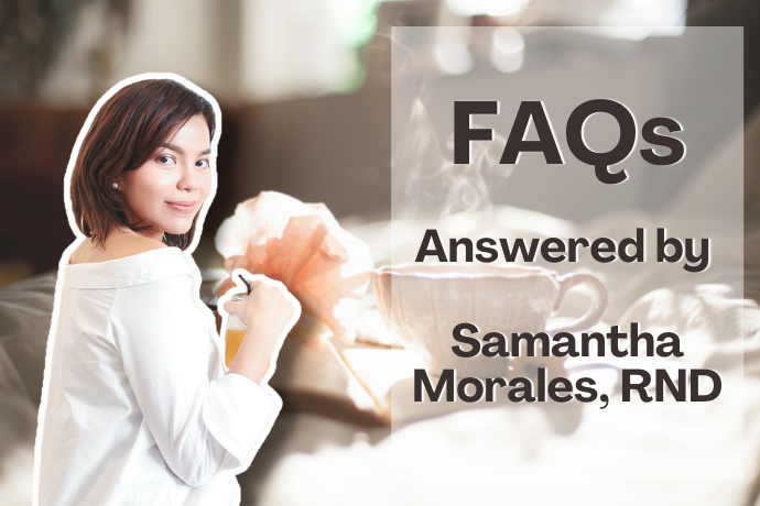 Frequently Asked Questions Answered by Samantha Morales