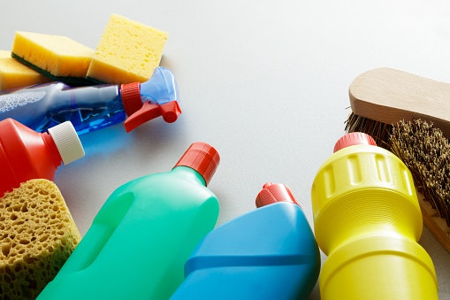 Keep Your Disinfectants Out of Children's Reach