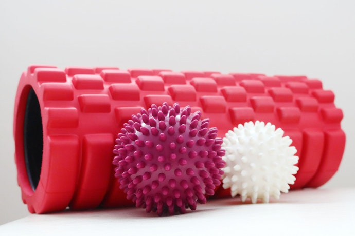 Textured Foam Rollers for Pain Relief