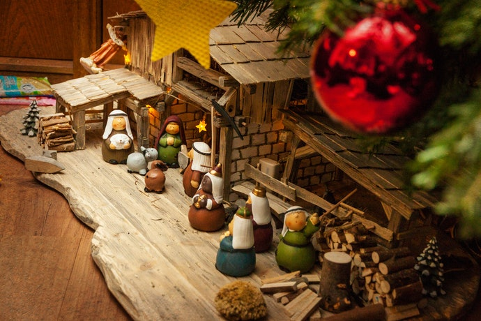 Figurines, Nativity Sets, and Christmas Villages for a Traditional Touch