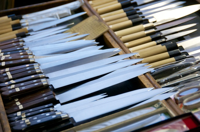 Carbon Steel Is the Traditional Material for Knives
