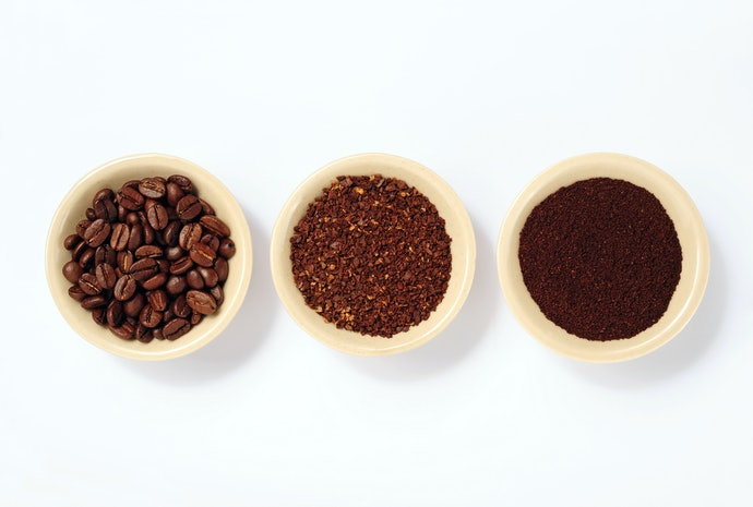 Select the Grind Size