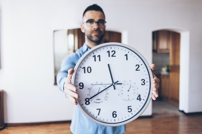 Check the Measurements to See if the Wall Clock would Fit on Your Wall and Space