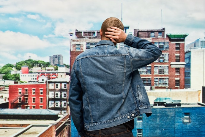 Keep It Cool With a Casual Jacket Such as a Denim Jacket, Hoodie, or a Bomber Jacket