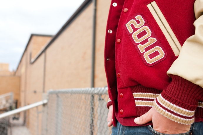 Hop on the Trend With a Vintage-Inspired Jacket Such as a Track Jacket, Varsity Jacket, or Anorak