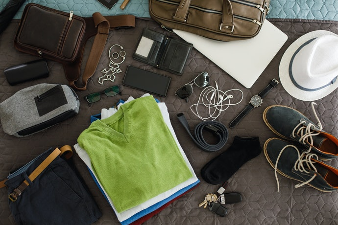 Lay Out Your Essentials