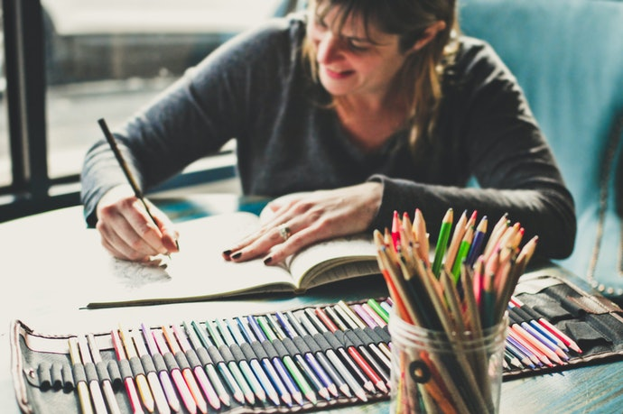 Tips for Working With Colored Pencils