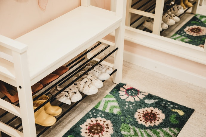 Consider a Shoe Rack with a Bench