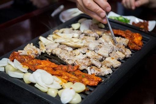 Choose a Smaller Sized Grill for Samgyup Nights