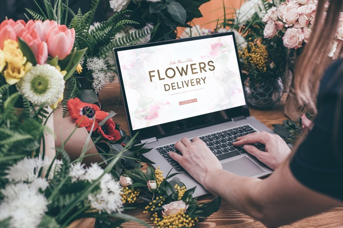 Go Over the Shop's Catalog for the Availability of the Flowers