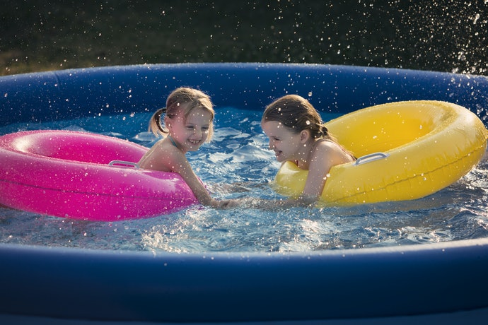 Make Sure There's a Drain Valve, Especially for Large Inflatable Pools