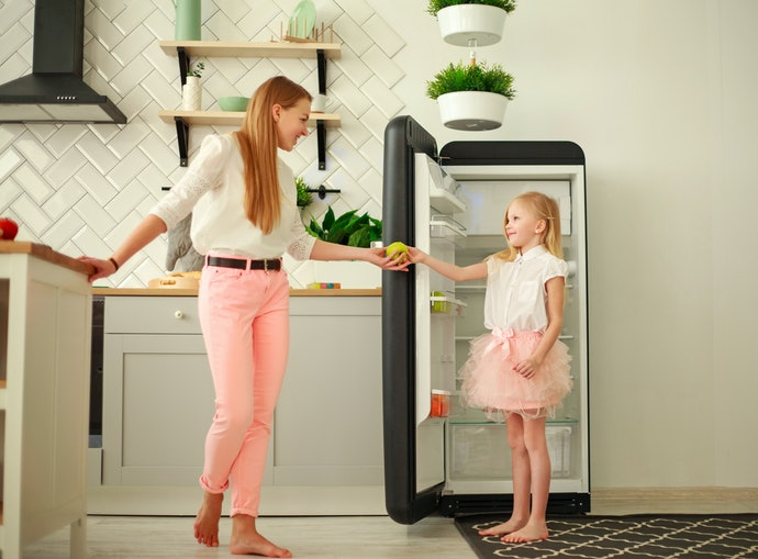 A One-Door Fridge is Straightforward and Affordable