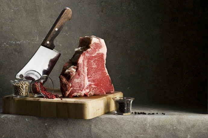 The Cleaver Is for Thick and Hard Food