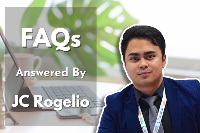Frequently Asked Questions Answered By JC Rogelio