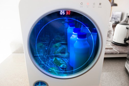 Sterilizing Time and Auto Shut-Off Feature