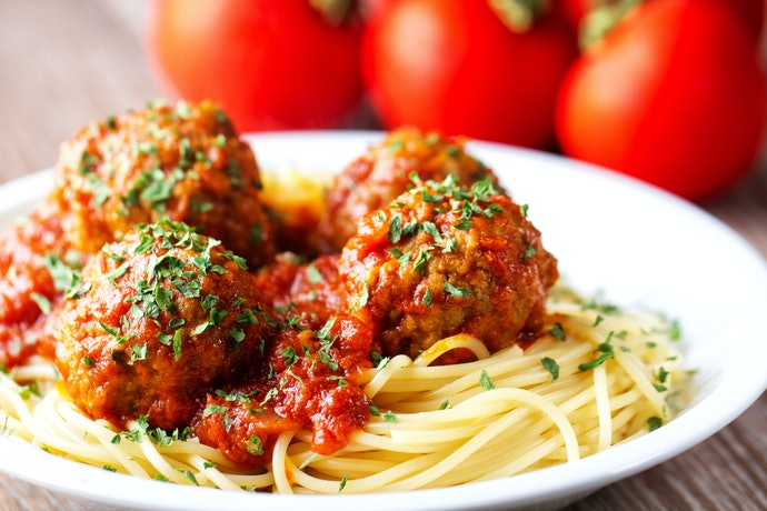 A Recipe for Meatballs with Tomato Sauce