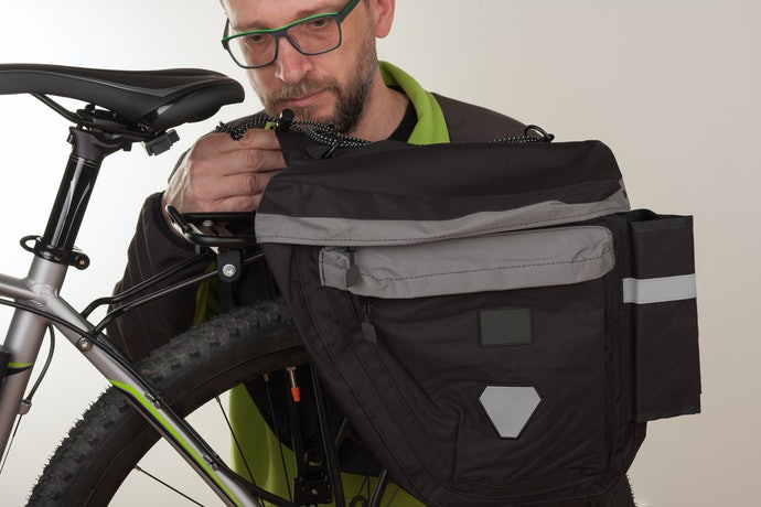 Bike Racks and Panniers Offer Tons of Storage if You Have a Bike Rack