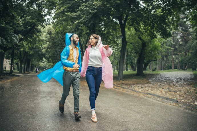 Ponchos Offer Complete Coverage During Heavy Rains