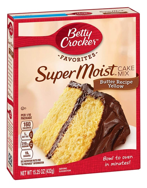 Betty Crocker  Super Moist Cake Mix Butter Recipe Yellow 1